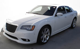 chrysler 300C stretch hire